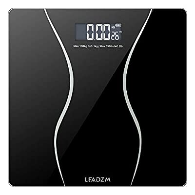 Digital Body Weight Bathroom Scale,180Kg Slim W...