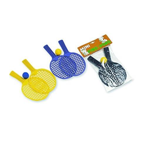 ADRIATIC Mini Baby Tennis Racchette con Palla 2 Colori Assortiti 27cm, 71