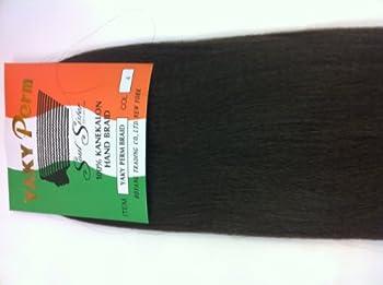 Soul Sister Yaki Perm Braiding Hair Yaki Perm for Braiding  #2  Dark Brown