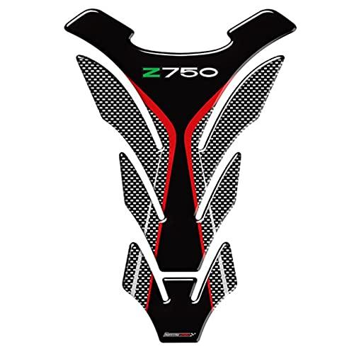 YHYPRESTER Accesorios para Motocicletas 3D PEO DE Gas Tanque DE Combustible Pendiente Protector DE Precios Pegatinas para Kawasaki Z750 2007 2009 2010 2011 2012 2012 HNYHY (Color : B)