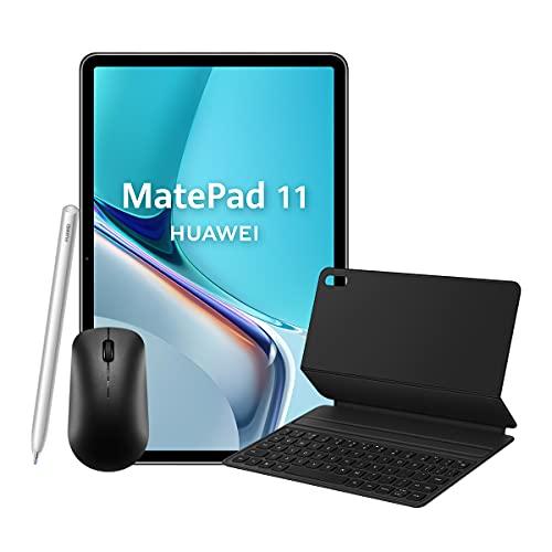 HUAWEI MatePad 11 con M-Pencil, Teclado, ratón – Pantalla 11', resolución 2.5K, fullview 120Hz, 6GB RAM, 128GB ROM, Huawei Share, Multi Ventana, Wi-Fi 6, Color Gris Mate
