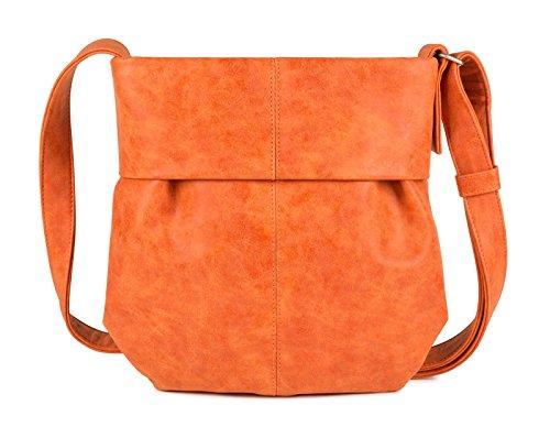 Zwei Umhängetasche Mademoiselle M10-z Kunstleder, Farben Taschen:orange