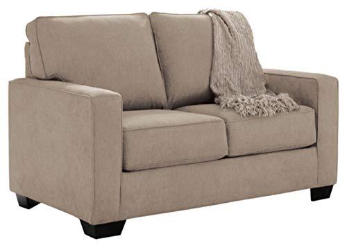 Signature Design by Ashley - Zeb Contemporary Microfiber Sleeper Sofa - Twin...