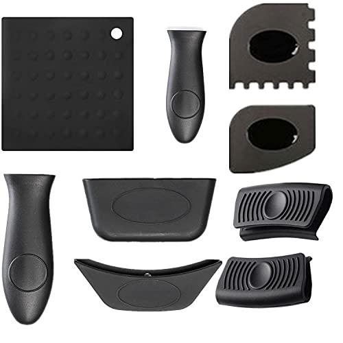 T1 9 PCS/Set de almohadillas de aislamiento de cocina de silicona