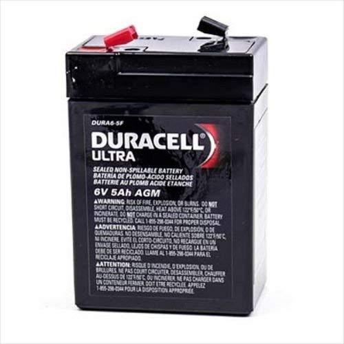 Duracell 6V 5.0Ah SLA Battery