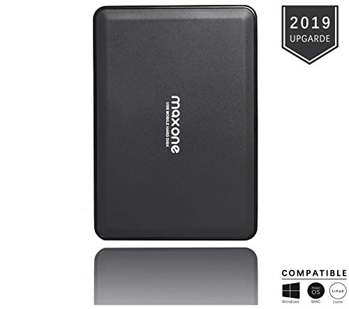 Externe Festplatte tragbare 320GB-2,5Zoll USB 3.0 Backups HDD Tragbare für TV,PC,Mac,MacBook, Chromebook, Xbox One, Wii u,PS4, Laptop,Desktop,Windows(Schwarz)