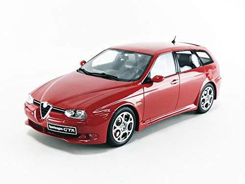 OTTO MOBILE- Auto in miniatura da collezione, OT746, colore: Rosso Alfa