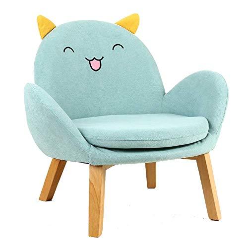 Tokyia norte de Europa Sofá de la muchacha del muchacho del asiento de jardín de infancia for silla Cojines adolescentes en Rincón de lectura del bebé pequeño sofá for Relajante juego Lounging (Color: