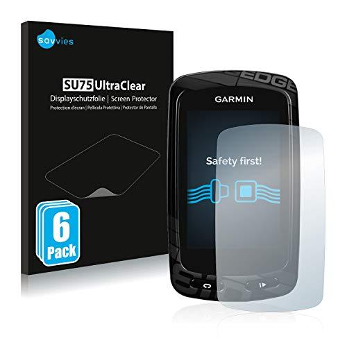 savvies Protector Pantalla Compatible con Garmin Edge 810 (6