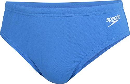 Speedo End+ 6.5CM BRF JM, Costume Taglio Slip Bambino, Blu (Sky Blue), 6-7 Anni