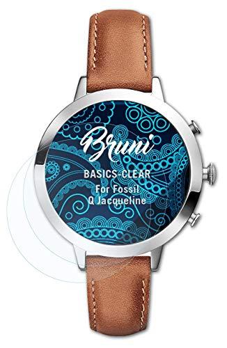 Bruni Schutzfolie kompatibel mit Fossil Q Jacqueline Folie, glasklare Bildschirmschutzfolie (2X)