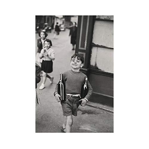 DrCor Henri Cartier-Bresson capturando la Esencia de los Carteles e Impresiones del Vino Lienzo Arte de la Pared Pintura ImágenesDecoración del hogar -50x70 cm Sin Marco