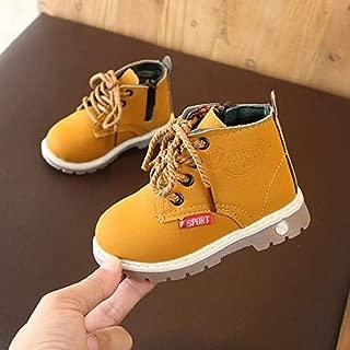 Children Shoes Children Casual Soft Bottom Cotton Shoes, Material:Cloth Shoes, Size:25(Black) Children Shoes (Color : Yellow)