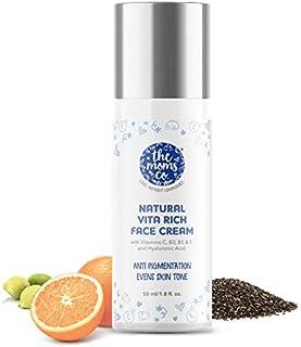 Natural Vita Rich Face Cream l Anti Pigmentation and Even Skin Tone l Vitamins C, B3, B5 & E and Hyaluronic Acid (50g)