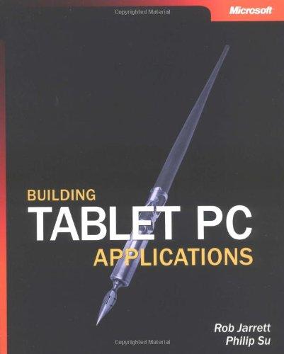 Building Tablet PC Applications (Pro-Developer)