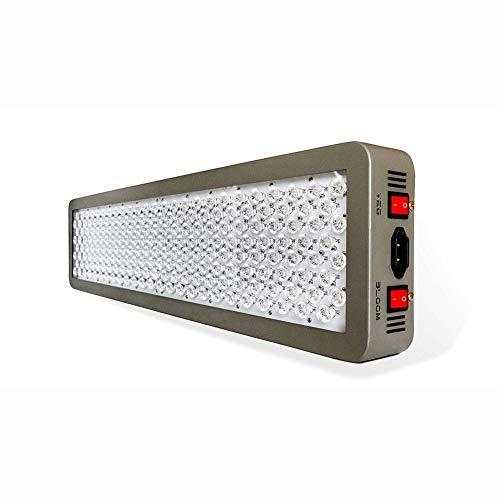 HCDMRE Dimmable Series P600 600W LED Grow Light - 2 Dimmer Full Spectrum für Indoor-Anlagen Hochleistungs-Kraftwerk-Beleuchtungsanlage mit hellem Fülllicht Veg/Bloom