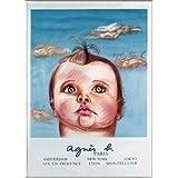 ポスター ダイアン シャネル Bebe Cruel (agnis b) 限定1000枚 額装品 アルミ製ベーシックフレーム(ライトブロンズ)