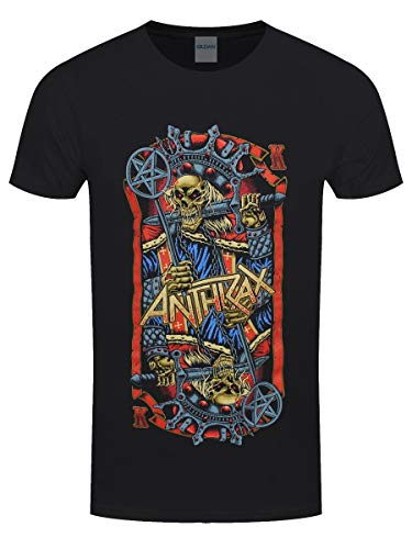 Anthrax Herren T-Shirt Evil King schwarz