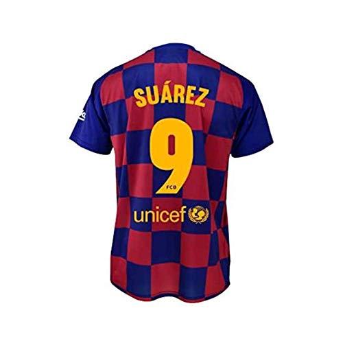 Camiseta 1ª equipación FC. Barcelona 2019-20 - Replica Oficial con Licencia - Dorsal 9 Suarez - Talla XXL