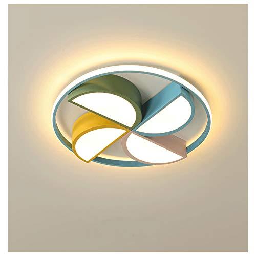 SENFEISM Lámpara de Techo para habitación de niños, lámpara de Techo, iluminación LED, lámpara de Dormitorio cálida para habitación de Princesa para niño y niña, Luces de Techo