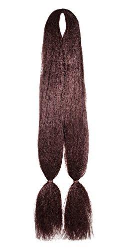 American Dream Double Tresse Kanekelon pour Extensions de Cheveux/Dreadlocks/Coiffures Créatives 35 Cuivre Profond