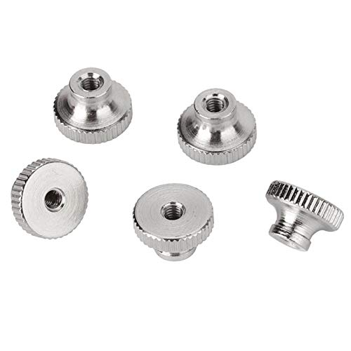 Stainless Steel Leveling Spring Knob Leveling Thread Screws for 3D Printer