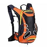 15 Liter Fahrradrucksack mit Helmhalterung, leichter Ski-Rucksack, kleine Fahrrad-Rucksäcke für...