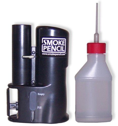 Smoke Pencil Hard Field Kit Pro Air Leak Detection Hazer – Handheld Smoke Stick Draft Detector Machine with Fog Juice for Detecting Leaks, Puffer Tool for HVAC Technicians Energy Raters Auto Mechanics