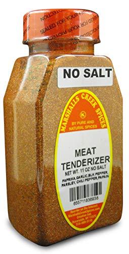 Marshalls Creek Kosher Spices, (st07), SEASONED MEAT TENDERIZER NO SALT 11 oz