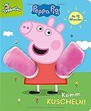 Peppa Pig - Komm kuscheln!: Pappebuch mit Plüschärmchen für Kinder ab 12 Monaten