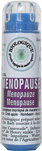 KOSMEO B Ménopause Complexe Fleurs de Bach sans Alcool 130 Granules Renforcé par Chromothérapie - BIO - 0.12 kg