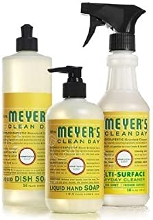 Mrs. Meyers Clean Day Honeysuckle Kitchen Basics Set (Bundle)