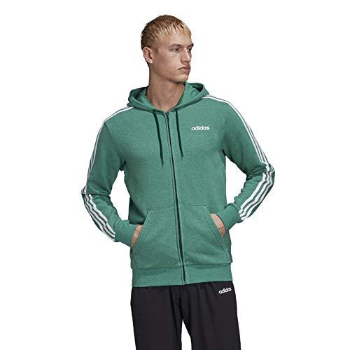 adidas Herren Sweatshirt E 3S FZ FT, Veunja, L, FM6090