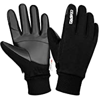 Cevapro Unisex Winter Suede Warm Gloves