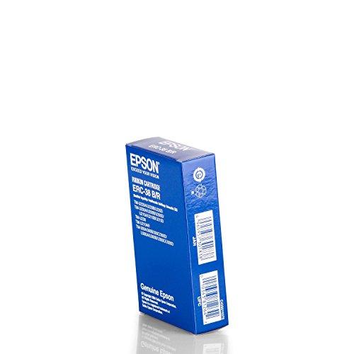 Original Epson C43S015376 / ERC38BR Nylonband Black-rot für Epson ERC 30