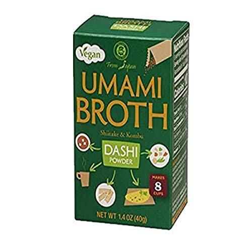 Muso From Japan Umami Broth Dashi Powder Vegan, 4 x 6 Count