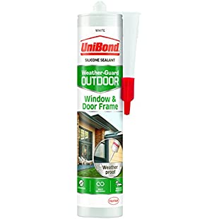 UniBond 2078170 Outdoor Window and Door Frame Sealant Cartridge - White:Cryptools