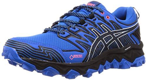 Asics Gel-Fujitrabuco 7 G-TX, Zapatillas de Running Hombre, Azul (Electric Blue/Black 400), 40.5 EU