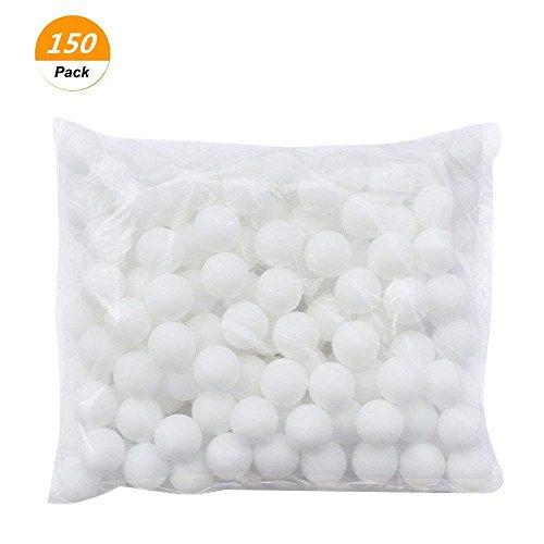 SelfTek 150 Pack Tischtennisbälle Erweiterte Ping Pong Bälle