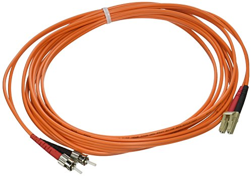 C2G/Cables to Go 14578 LC/ST Duplex 50/125 Multimode Fiber Patch Cable (4 Meters, Orange)