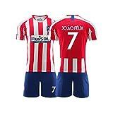 LIUJING Suárez Atlético Madrid jersey Nº 9 ropa de fútbol traje masculino deporte entrenamiento jersey - tamaño (Talla -2XL) 2-S