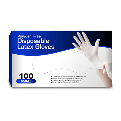 New Disposable Latex Gloves,...