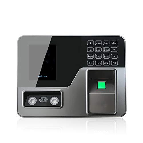 N\ A Anwesenheitsmaschine, Maschinengesicht Fingerabdruck Passworterkennung Mix Biometrischer Fingerabdruck Zeitschaltuhr für Mitarbeiter Zeitschaltuhren für Unternehmen