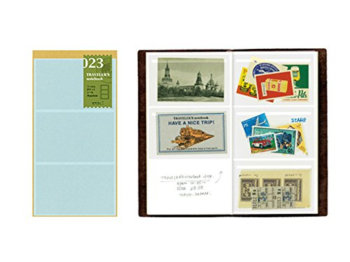 Midori Traveler's Notebook Refill #23 Film Pocket Sticker (Card Size) by Traveler's Notebook