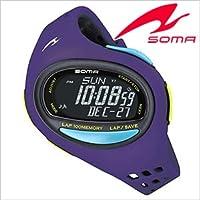 セイコーソーマ腕時計 [ SeikoSOMA時計 ]( Seiko SOMA 腕時計 セイコー ソーマ 時計 ) ランワン ( RunONE ) ユニセックス/男女兼用時計/液晶/DWJ08-0003 [トレーニング] [ランニングウォッチ] [ジョギング]