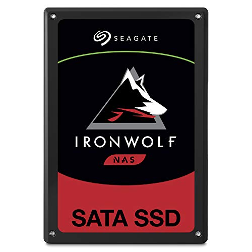 Seagate IronWolf 110 1.92TB NAS SSD Internal Solid State Drive – 2.5 inch SATA for Multibay RAID System Network Attached Storage, 2 Year Data Recovery (ZA1920NM10001)
