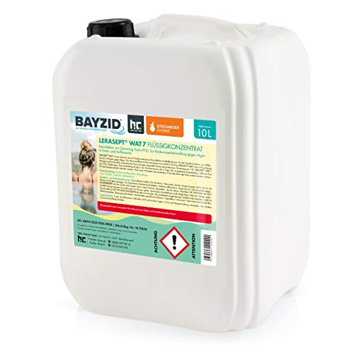 10 Liter Aktivsauerstoff Wasserstoffperoxid H2O2 Lerasept® WAT 7 für Pools und Schwimmbäder Chlorersatz