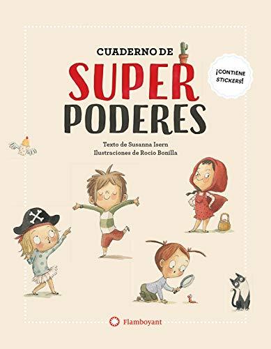 Cuaderno de superpoderes: 21 x 27 cm