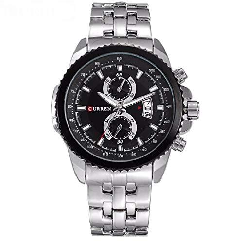 Curren Men's Watch Stainless Steel Luxury Quartz Best Army Watch