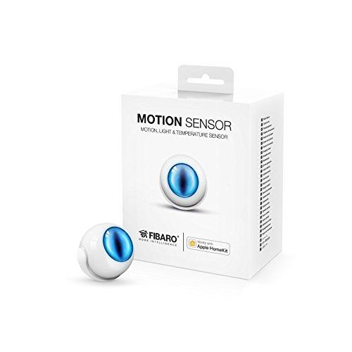 FIBARO HomeKit enabled Motion Sensor / iOS Bluetooth 4 in 1 Multisensor, Bewegung, Temperatur, Lichtintensität und Beschleunigungsmesser, FGBHMS-001
